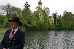 Höglwörth See und Kirche